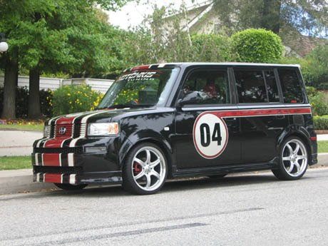 Scion Xb 04 Stripes Concepts Supercars Tuning And Custom Cars