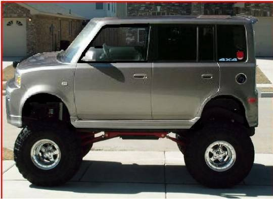 Hard Lifted Scion Xb Concepts Supercars Tuning And Custom Cars